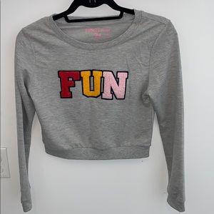 Rebellious One graphic sweatshirt